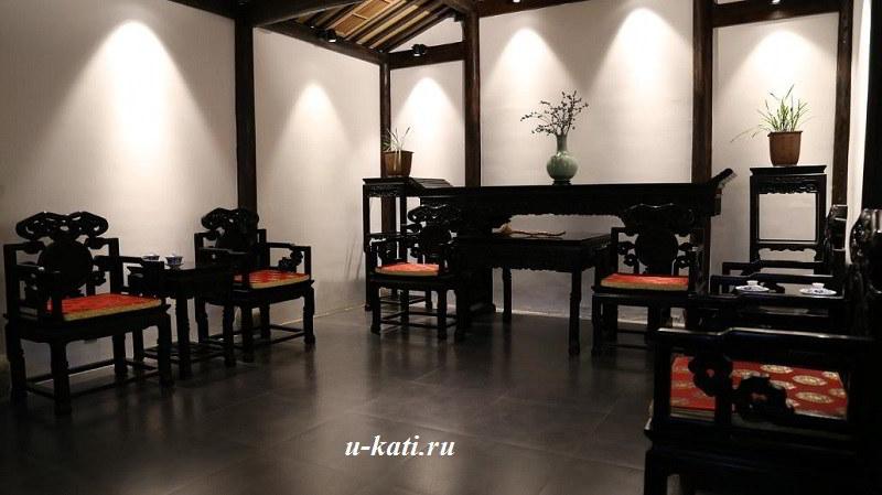 дизайн гостинной в китайском стиле