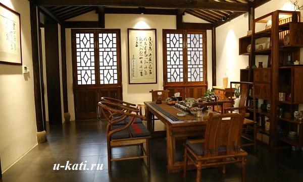 интерьер в китайском стиле мебель